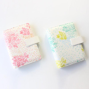 Domikee original creative flower design fabric spiral notebook stationery,cute personal binder planner agenda organizer gift,A6