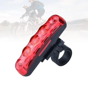 Bike Night Light Super Bright Coda Light per Bike Bycicle (Red Battery Red)
