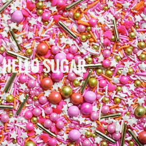 25g Edible Cake Decorations Sugar Beads INS Peach Wedding Birthday Party Cake Topper Christmas Decoration Mixed Sugar Needle
