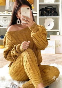 Retro Hot 2019 Neue Damen Damen Anzug Sommer Pullover Joggers Plain Lounge Wear Trainingsanzug Lounge Wear Beilage Lose Solid Sets Y200512