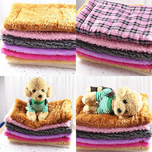 Bite Resistant Woollen Blankets Warm Soft Dog Kennel Rich Color Pet Cushion Thickening Cat Dogs Accessories Pets Supplies 9 5gg E2