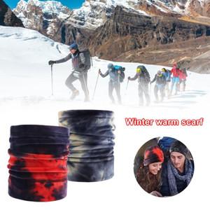 Winter Fashion Thermal Fleece Neck Gaiter Tube Scarf Warm Bandana Face Snowboard Half Face Cover Headband Men&Women Scarf