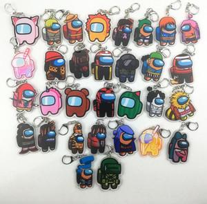 Designer Keychain Games tra Stati Uniti Portachiavi Anime Carino Cartoon Acrilico Acrilico Colorato Portachiavi Portachiavi Keychains Keys Decorazione Accessori E121608