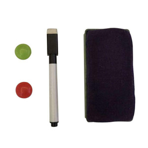 Small Medium Large Marker Pen Magnetic White Board Dry Erase Board Eraser Office