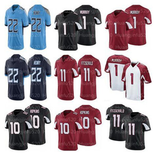 Erkekler 10 Deandre Hopkins 1 Kyler Murray 11 Larry Fitzgerald 31 David Johnson Jersey 22 Derrick Henry