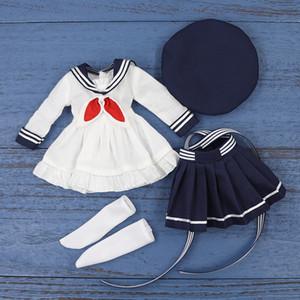 Tenue de poupée glycée DBS Blyth pour 1/6 BJD Little Angel Uniforme Vêtements Dream Fairy Doll Girls SD F1216
