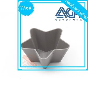 Food grade silicone Pentagram muffin cup pudding mold