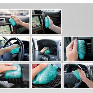 Alta tecnología Mágica Limpiador de polvo Compuesto Super Clean Gel Slimy para computadora portátil PC Teléfono Teclado Teclado Coche Limpio Gel Gel Cleaner H Qylcxa