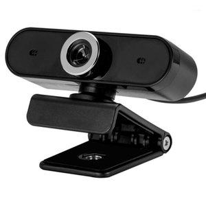 Webcam Full HD Web Câmera com microfone embutido USB Plug Web Cam Para PC Computador Laptop Desktop YouTube Skype Video Chamando1