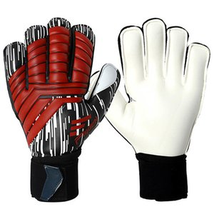 Goalkeeper Professional Football Men Soccer Goalie Gloves Non-slip Thicken Latex Glove Finger Save Guard Q878