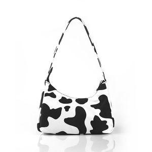 Winter fashion 2021 new Women's trendy zebra pattern bag Baguette bag chain shoulder messenger Handbags and purse