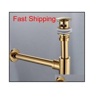 Bronze Round Siphon Bottle Trap Black P-trap Bathroom Vanity Basin Pipe Waste Brass Pop Up Dra jllhhU xmhyard