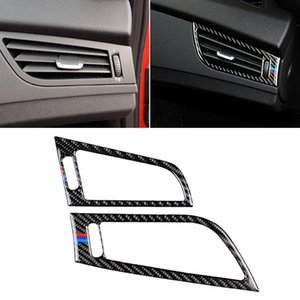 Car Carbon Fiber Side Air Outlet Panel Three Color Decorative Sticker for BMW Z4 2009-2015 Suitable For Left Driving