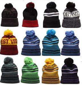 Bonnet en gros Hiver Heanie tricoté Hats Sports Hiver Bonnets Caps Femmes Hommes Populaire mode Hiver Top Qualité Chapeau 10000+ Styles Chapeaux