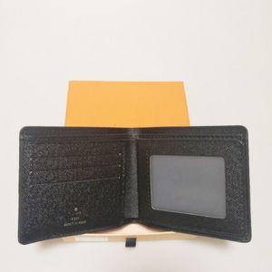 Hiçbir kutu erkek lüks tasarımcı cüzdan 2020 yeni erkek deri cüzdan erkekler için cüzdan erkekler cüzdan