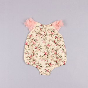 Clearance sale Baby One Piece Romper Girl Dress Infant Lace Romper Summer Flower Jumpsuit Baby Dress Children Clothes Kids Clothing Z200