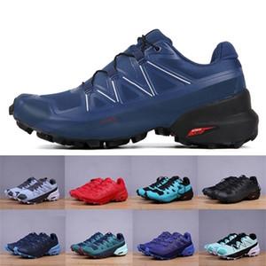 2020 Geschwindigkeitskreuz 5 VI CS Outdoor Herren Laufschuhe Speedcross 5 VI Runner Trainer Männer Sport Turnschuhe Chaussures Zapatos Joggen Scarpe
