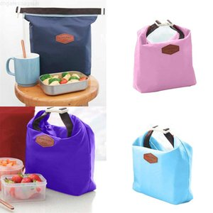 Pouch Picnic bag Outdoor Lunch Carry Tote Container Warmer Cooler Nylon Storage Bags