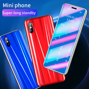 New arrive Unlocked Mini Card Mobile Phone Portable Ultra-thin Small No Network Student Quit Internet Addiction Backup Cellphone R11