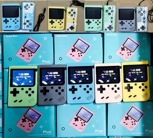 Portable Doubles Console de jeu vidéo de poche de poche rétro 8 bits Mini joueurs de jeu 800 en 1 jeux de 1,0 pouce Coloré LCD en gros