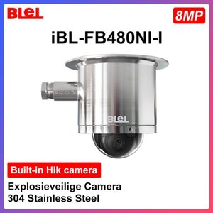 Explosion-proof Camera for HIKVISION ip Camera 8MP Built-in Hik 304 Stainless Steel Support PoE Hik-Connect app IR 30m