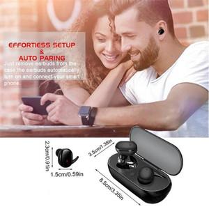 Venda quente Fones de ouvido sem fio Bluetooth V5.0 Y30 TWS PK I12 / I11 / I9s / Macaron / Inpods 12 TWS sem fio Bluetooth Headphone Headset Esporte Fone de Ouvido