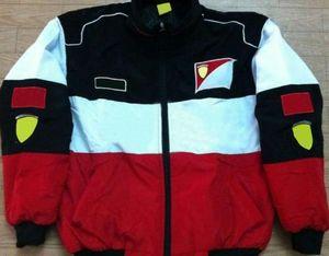 F1 Racing Voiture Vêtements Vêtements Veste Européenne et Américaine Veste Coton Vêtements d'automne et d'hiver Veste à la moto brodée complète