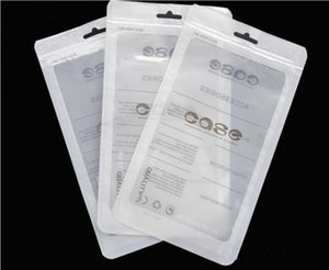 Zip lock bags Zipper Retail Bag for Phone Case Plastic Clear Packing Bags Zipper Zip Lock Hang Hole Package Pouches opp bag
