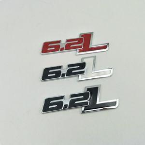 Para 2011-2015 Chevy Chevrolet Camaro 6.2L capucha Fender Metal Emblem Transporte trasero Placa de identificación
