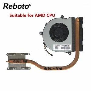 Reboto Original for 15-BA Series Laptop CPU Heatsink Radiator Fan 813947-001 813946-001 100٪ اختبار سريع السفينة 1