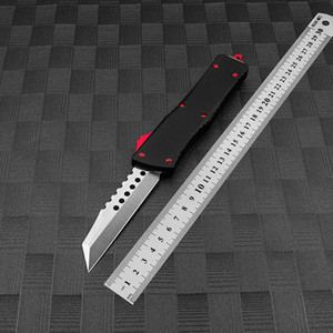 New Style MT Automatic Knife Micor Knives Tech Double Action Tactical Tools CNC Aluminum Handle Outdoor Camping Survival Auto Pocket EDC