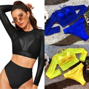 5zpn sexy halter mujeres más tamaño traje de baño Oneswimsuit monokini Push Up Push Solid Beach Wear Womans Bikini Swim Weave 2016 Bañando Traje