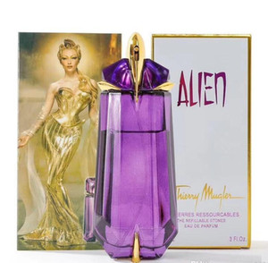 Förderung Luxus Parfüm Mugler Angel Alien Parfüm für Frauen Eau de Parfum Spray Damen Parfüm Größe 90ml 3.4fl.oz