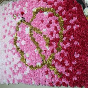 SPR Word-Q Dahlia 2*1.8m Free Shipping 10pcs lot yiwu factory flower wall wedding backdrop artificial arrangements