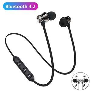 XT11 Магнитная адсорбция Беспроводной Bluetooth 4.2 Наушники для наушников в ухе Спорт для наушников STESTEO CONE DE OUVIDO для телефона