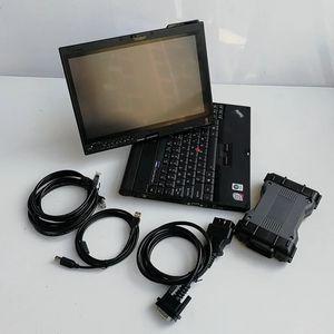 MB Yıldız Tanı C6 MB Yıldız C6 VCI SD Connect C6 DOIP Teşhis V20 Ile V2020.06 SSD Yükleme X201T Dizüstü Bilgisayar I7 8G