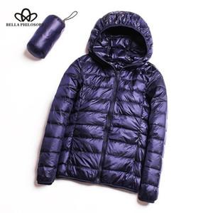 Bella Philosophy winter Down jacket women 90% duck down coat Ultra Light warm Female Portable plus size down jacket winter 201124