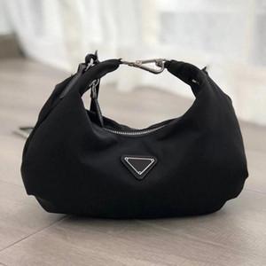 5A 2020 Высочайшее качество Новая мода Mens Reedition 2006 Tote Nylon кожаная сумка на ремне дизайнер женские сумки для плеча Сумки через плечо Сумки
