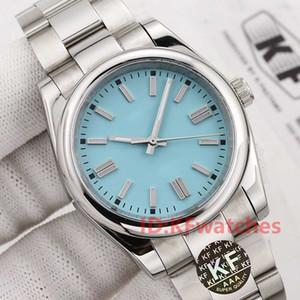 Fashion Hommes 36/41 mm Acier inoxydable Mouvement automatique Movment Montres Hommes Big Watches Date Montre-bracelet 2021