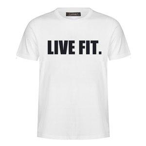 2019 Moda Yeni Mektup Baskı Spor erkek Gömlek Kazak XL Harajuku Tarzı Kısa Kollu T-shirt Kazak MC28