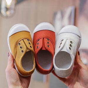 Cozulma Spring Summer Enfants pour garçons Filles Canvas Boy Baby Girl Chaussures Chaussures Enfants Soft Foot Sneakers 201113