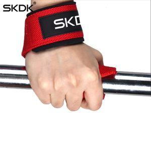 """20.5 """"X1.5"""" Pullded Weightlifting Straps Treinamento Luvas Mão Pulseiras Envoltório Ginquete Ginásio Fitness Equipamentos Esportivos Acessório Novo"""