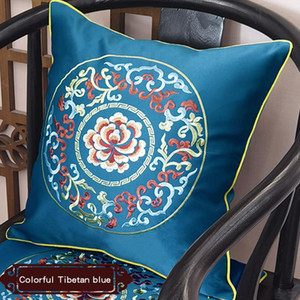 Cushion covers decorative pillow throw pillow cover Cushion Cover Decorative Case Modern Chinese Traditional Embroidery H