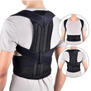 Spine Posture Corrector Protection Back Shoulder Band Humpback Back Pain Relief Brace Adjustable Adult Corset Body Health Care Q1117