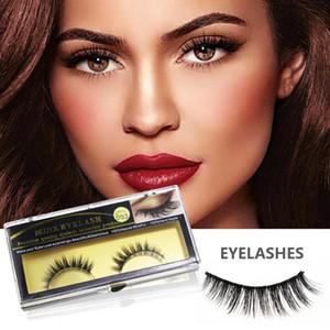 Makeup Eyelashes 3D 100%Mink Lashes Fluffy Soft Wispy Volume Natural long Cross False Eyelashes Eye Lashes Reusable Eyelash