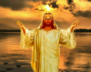 Catholic picture JESUS ON THE WATER Home Decoration Oil Painting On Canvas Wall Art Canvas Pictures For Wall Decor 201125