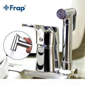 vente en gros Bidets nouvelle toilette bidet portable chrome laiton massif douche portable bidet ensemble avec de l'eau froide chaude bidet