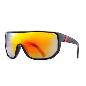 الرجال الإطار الكبير يندبروف نظارات رياضية ملونة العين حماية الدراجات نظارات siamese نظارات دراجة النظارات أعلى جودة