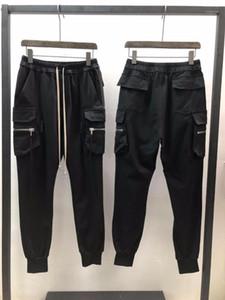 19SS Owen Saken Homens Casuais Calças Hallen 100% Algodão Gótico Homens Roupas De Moletom Camisas Primavera Solta Calças Sólidas Tamanho XL1