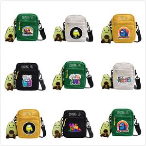 28 Cores Jogo Quente Entre nós Peito Bag Crossbody Bags Fanny Pack Cartoon Bolsa De Ombro Kids Meninos Meninas Bolsas Bolsas Bolsas De Mensageiro